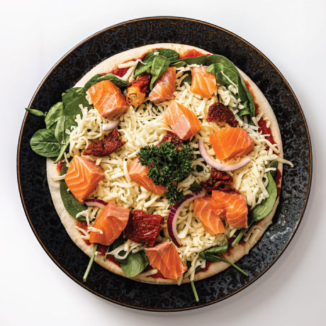 Photo of Atlantic Salmon Pizza