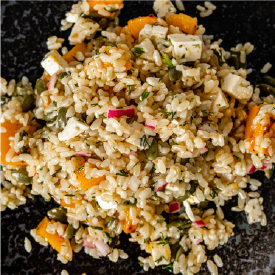 Photo of Brown Rice Salad
